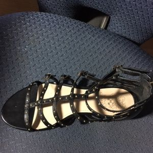 Vince Camuto Shoes - Vince Camuto Flat Gladiator Sandals - Hevelli  6M